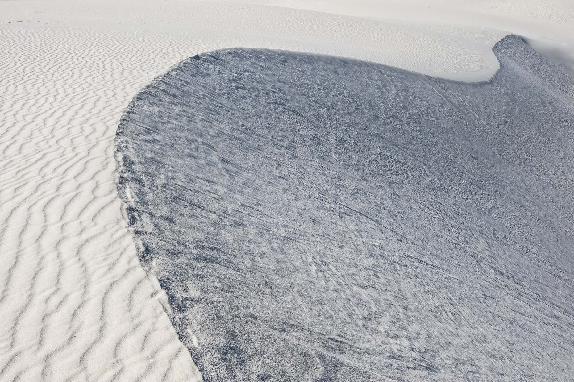 Landscape from White Sands desert, New Mexico.
