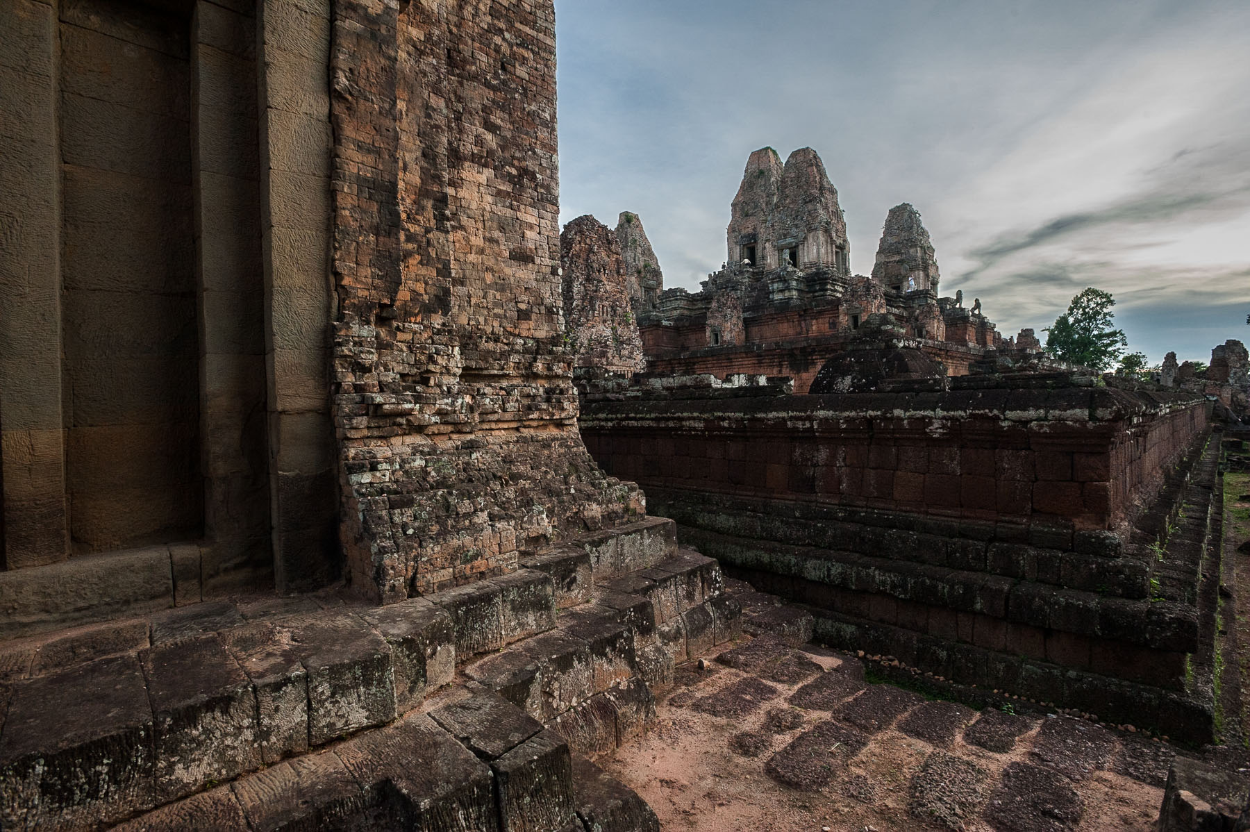 Ankor Wat Temple at sunset, Siem Reap, Cambodia.